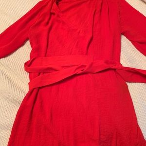Hm red blouse